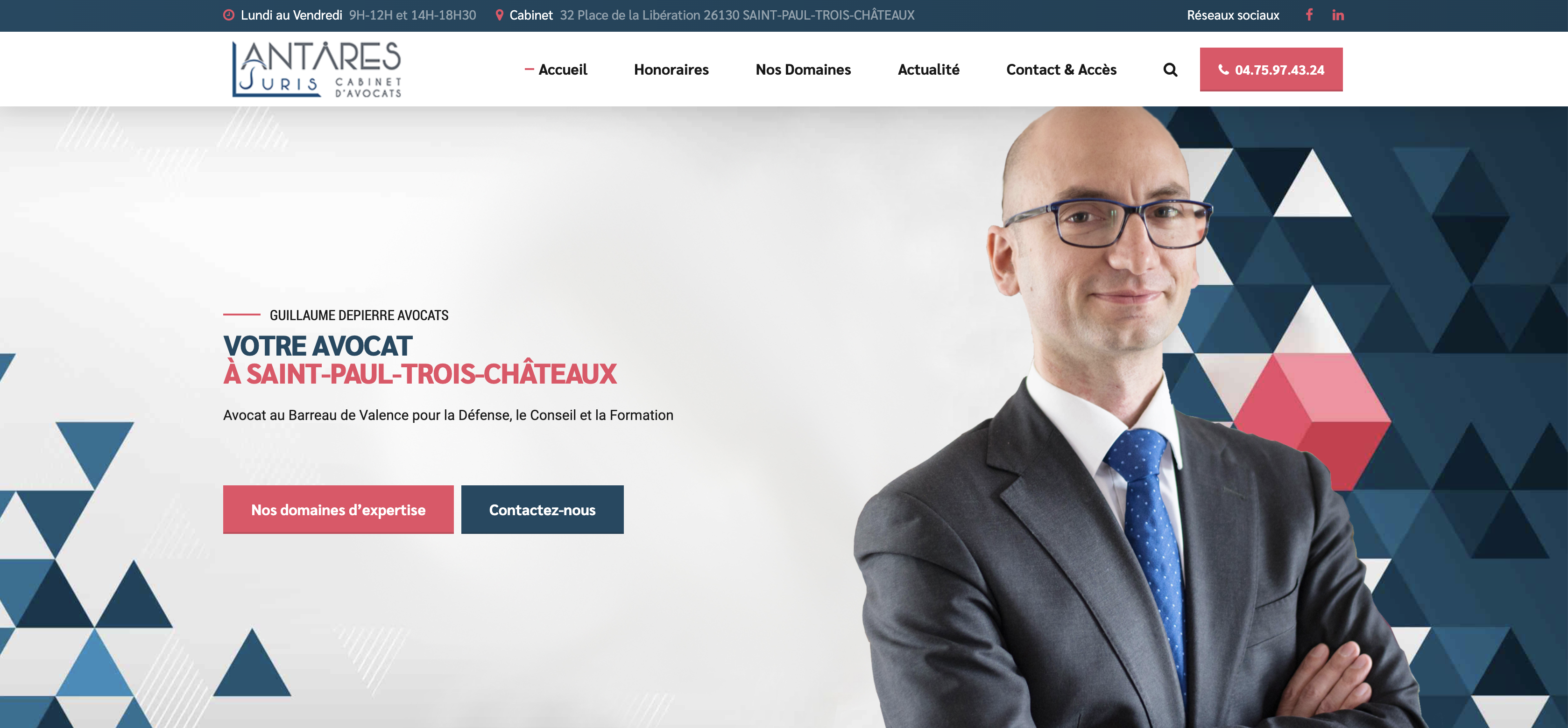 site internet vitrine avocat